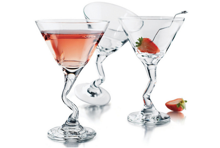 US Libbey Z-leg-shaped Martini Glass Cocktail Glass Fruit Juice Glass