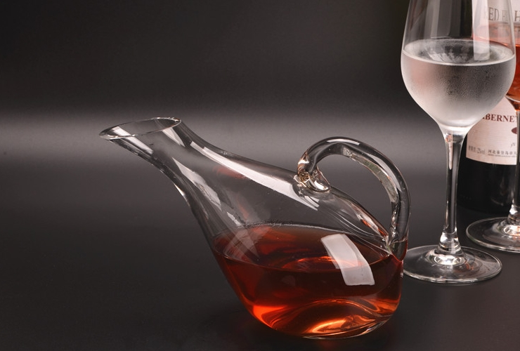 Crystal Glass Creative High-class Swan Wine Decanter