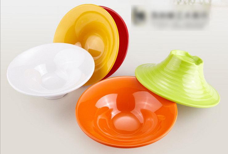 High-class A5 Melamine Ceramic-like Colorful Ice-cream Bowl Shaved-ice Bowl