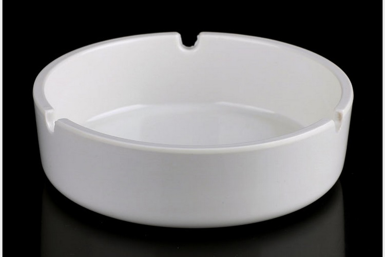 Melamine Ceramic-imitated Scientific Porcelain Ashtray