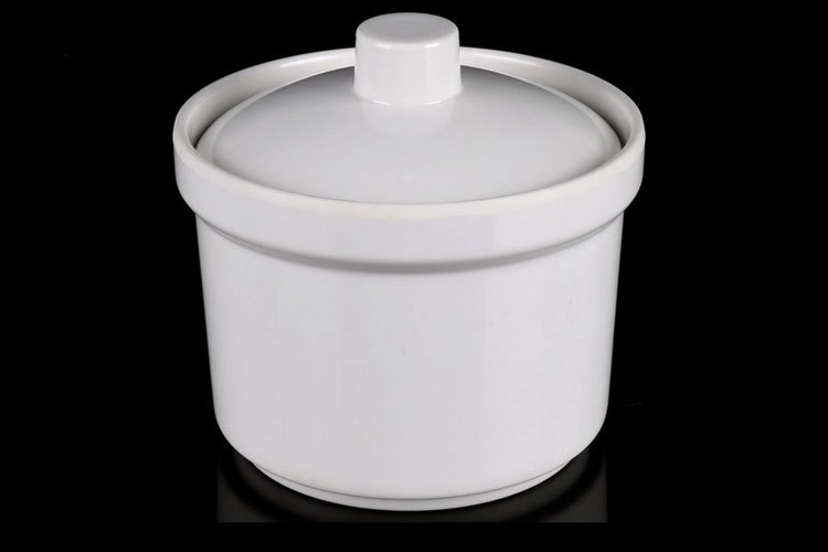 Melamine Porcelain-like Melamine Tableware Steaming Pot Soup Pot