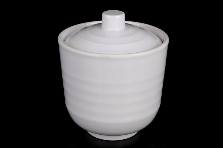 Melamine Tableware Scientific Porcelain Melamine Tableware Ceramic-imitated Steaming Pot