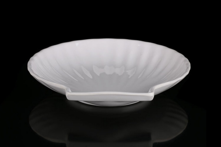 Melamine Ceramic-imitated Creative Shell Plate Snack Plate Dim Sum Plate Sushi Plate
