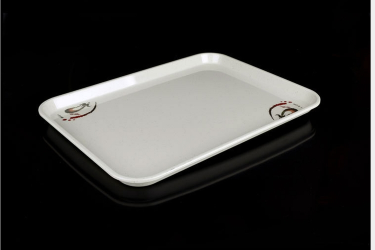 Melamine Porcelain-like Melamine Tableware Tray