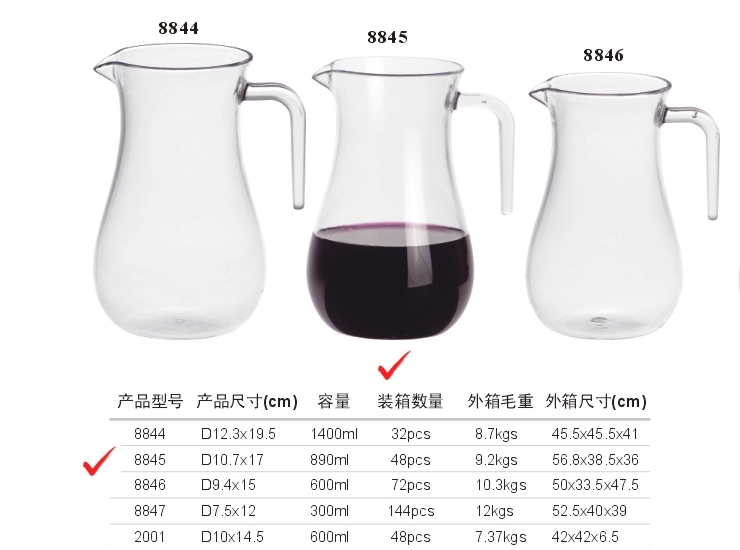 PC Decanter (With Ear)