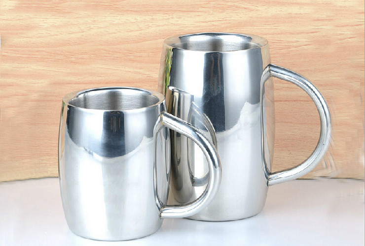 Stainless Steel Tea Water Coffee Cup Stainless Beer Cup