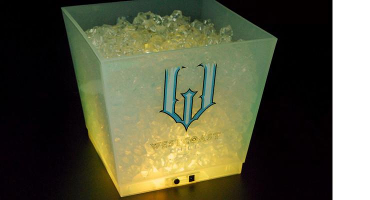 Wholesale 10LBig-capacity LED Bar KTV Ice Bucket Charging Luminous