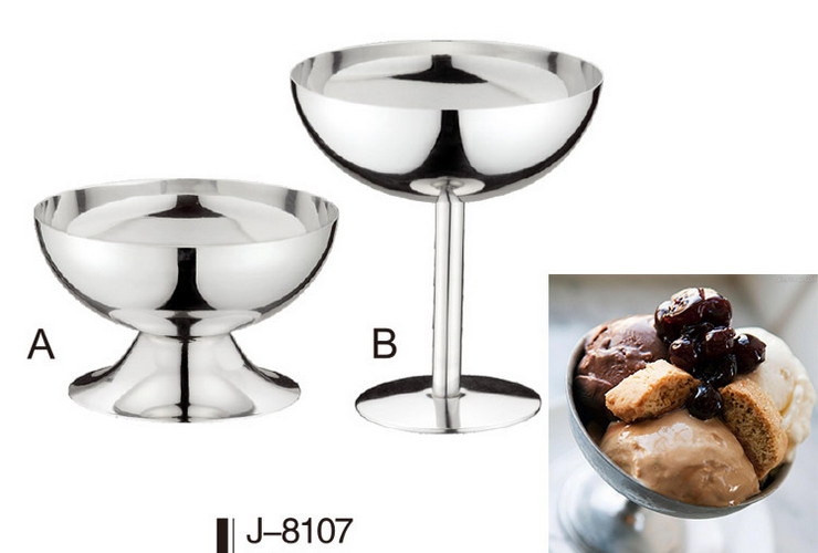 Stainless Steel Ice-cream Cup 200ML
