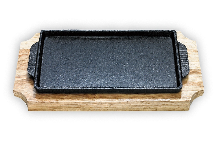 17CM Japan-style Square Iron Hotplate