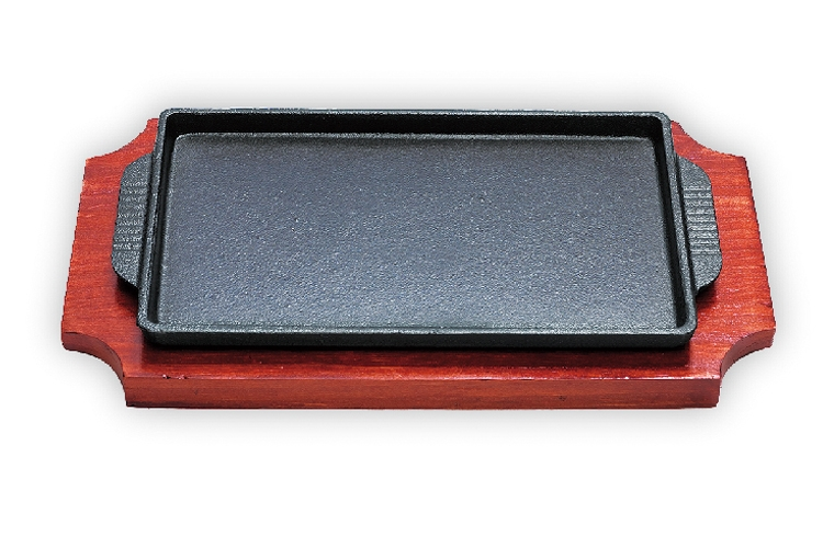 19CM Japan-style Square Iron Hotplate