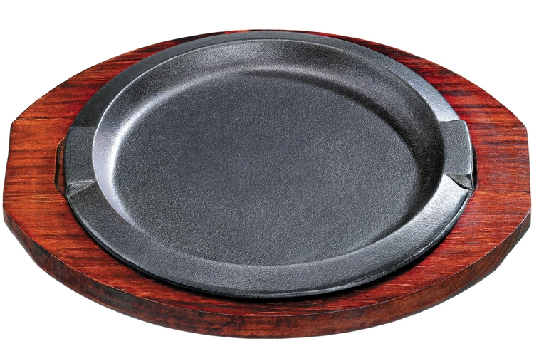 18CM Double-ear Round Iron Hotplate