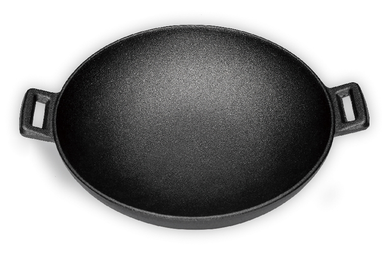 24CM Double-ear Iron Pan