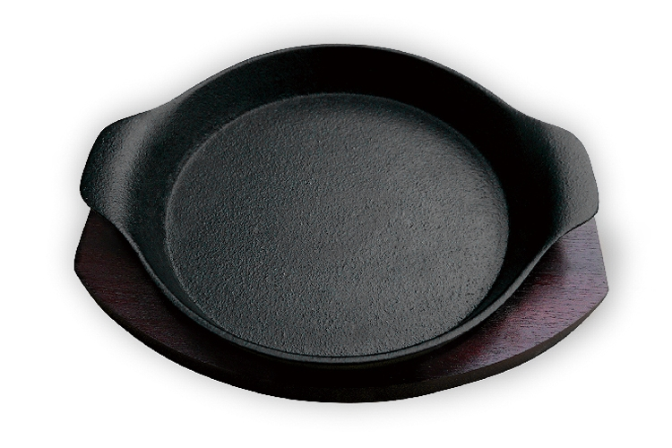 20CM Double-ear Round Iron Hotplate