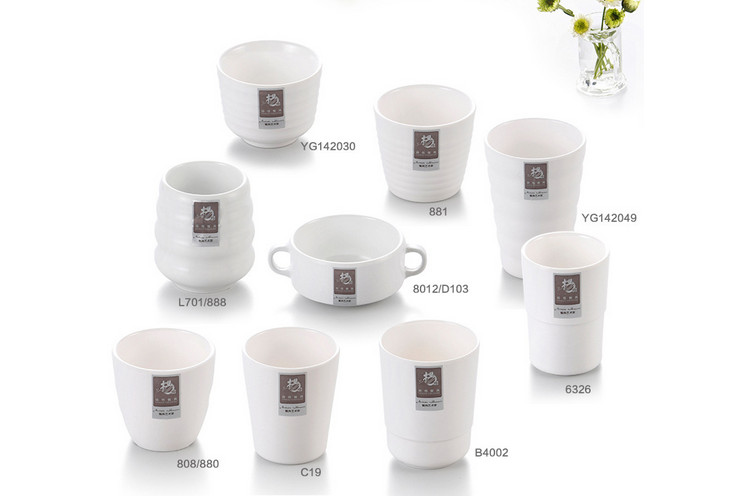 Ceramic-like Melamine Cup Drink Cup Tableware