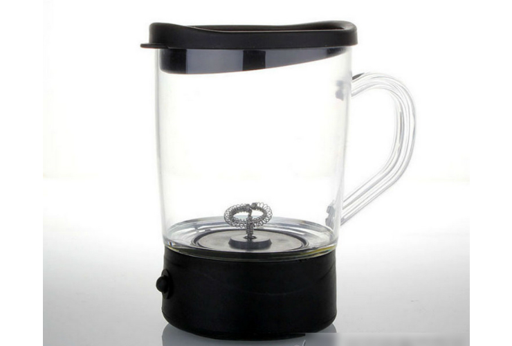 Automatic Electric Play Milk Cup Coffee Cup Blender Electric Mixer 250ML