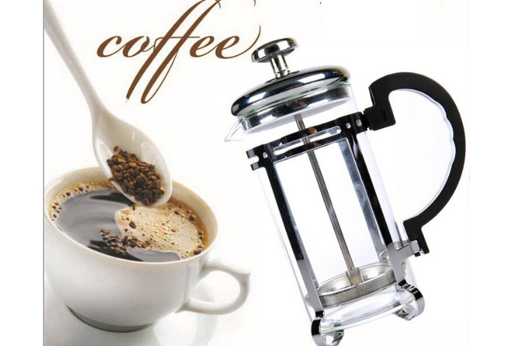 French Press Coffee Pot High Temperature Stainless Steel Tea Tool