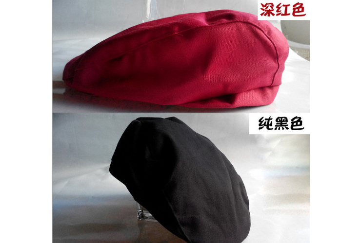 Many Styles of Chef Hat Waiter Waitress Work Hat Women Men Front Back
