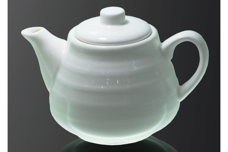 Ceramics Double-line Water Teapot