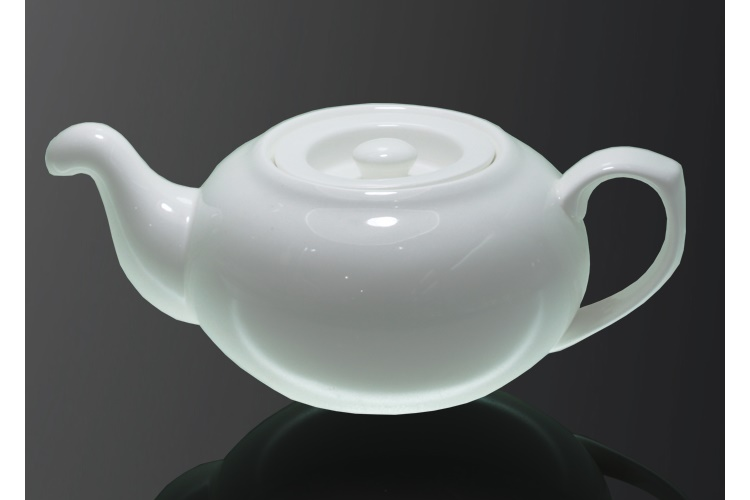 Ceramics Curve-mouth British-style Water Teapot