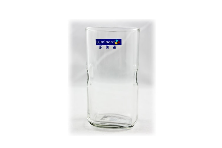 Luminarc Straight-body Transparent Easy-to-hold Square Glass