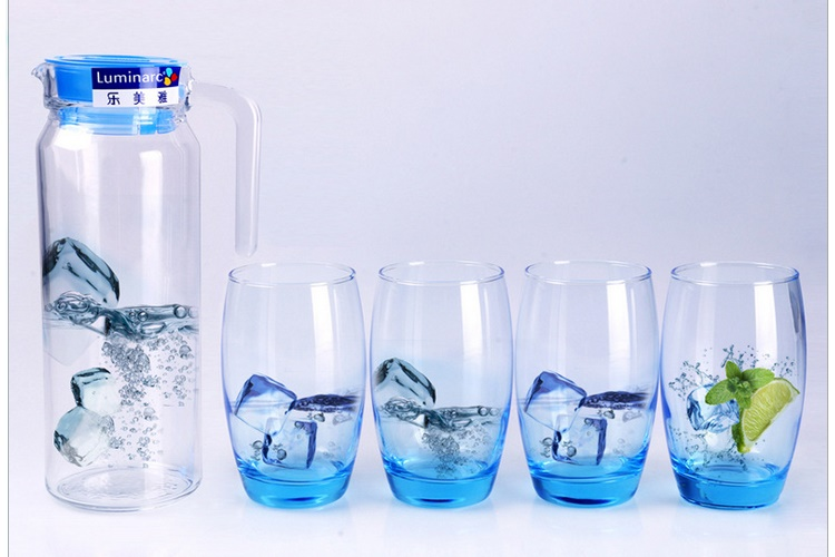 Luminarc Water Glass Set Hear-resistant Drinkware 5 Piece Set