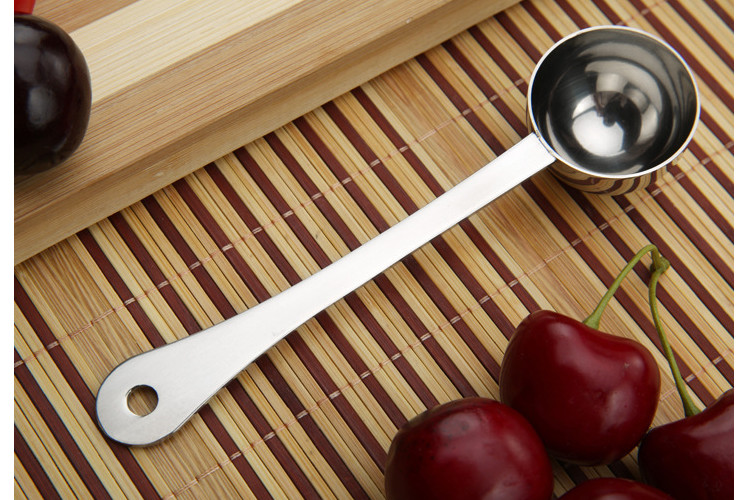 Stainless Steel 15ml Coffee Cup Dessert Powder Coffee Beads Measuring Cup