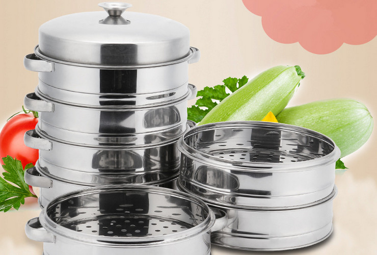Stainless Steel Steamer with Holes