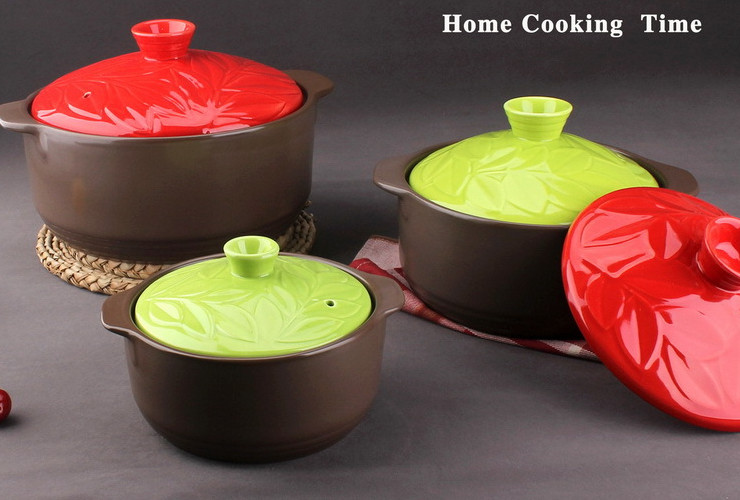 Ceramic Casserole Congee Slow Cooking Pot
