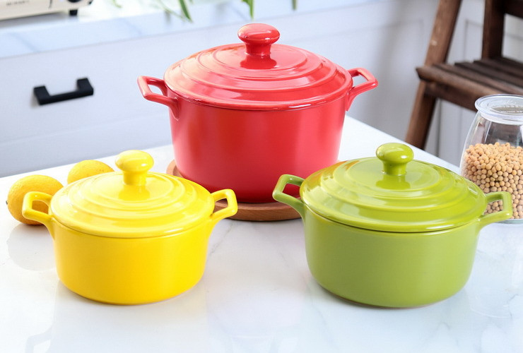 2.2L Korean Style Ceramic Casserole (Gift Box Packing)