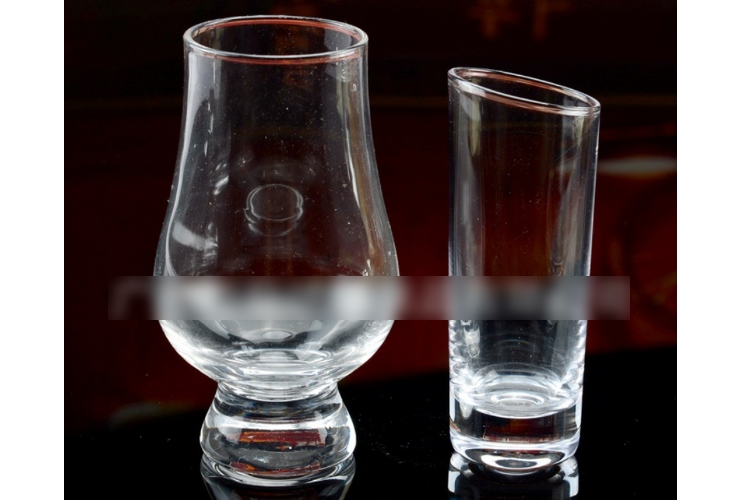 Creative Tilted-mouth Cocktail Glass Tasting Glass Euro Spirits Whisky Cogna Aroma Cup