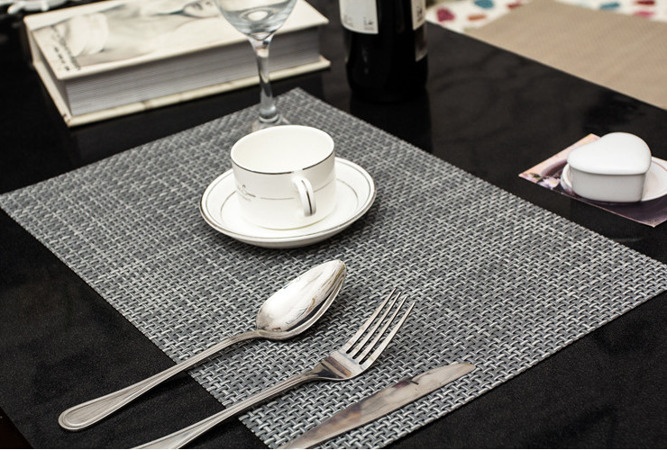 High-Class PVC Table Pad Anti-slip Heat-resistant Water-proof