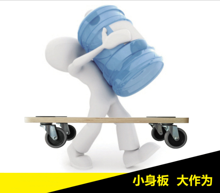 (Instant Pick Flatbed Truck Ready Stock) Restaurant With Tablet Trolley To Move Cargo Turnover Trolley Car Mute Caster Wheel Wooden Car