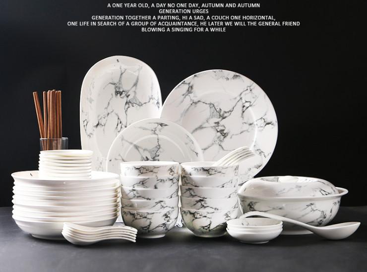 Wholesale Gift Tableware Ceramic Tableware Home Dish Plate