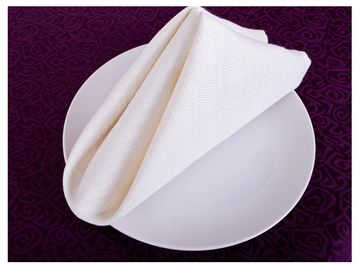 High-End Hotel Restaurant Mouth Cloth Wipes Cloth Linen Napkins Towel Towel Elegance Cuddle Cloth