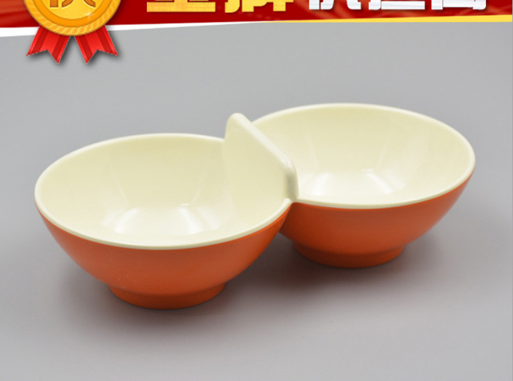 High-Grade A5 Melamine Imitation Porcelain Piece Of Material Bowl Hot Pot Tableware Wholesale