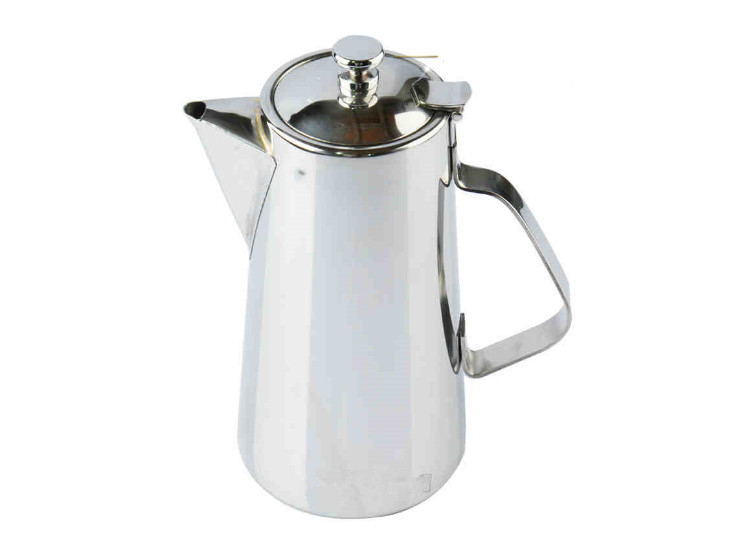 High-Grade Stainless Steel American Coffee Teapot Special Mouth Mouth Short Mouth Cold Kettle