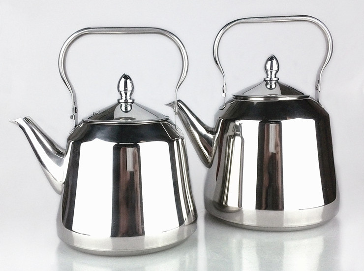 Hotel Restaurant Thickened Stainless Steel Covered With Tea Kettle Induction Cooker Kettle