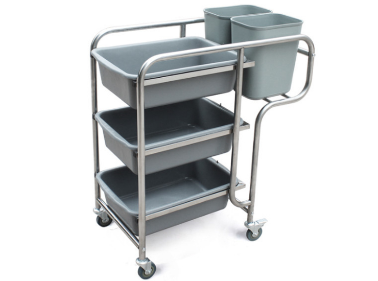 Hotel Stainless Steel Storage Drivers Push The Discs Simple Collection Car Thickening Stainless Steel