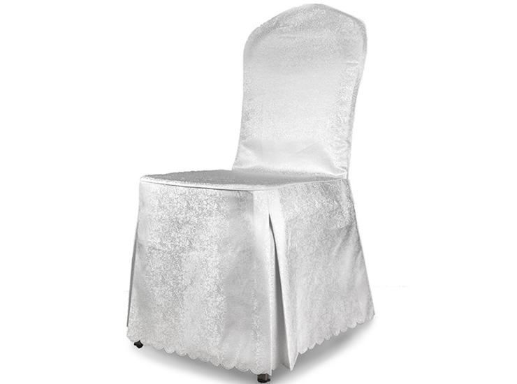Hotel Tablecloth Chairs Sets Wholesale Factory Direct White Floral High Quality Simple Polyester Jacquard Restaurant Banquet Wine Set Sets