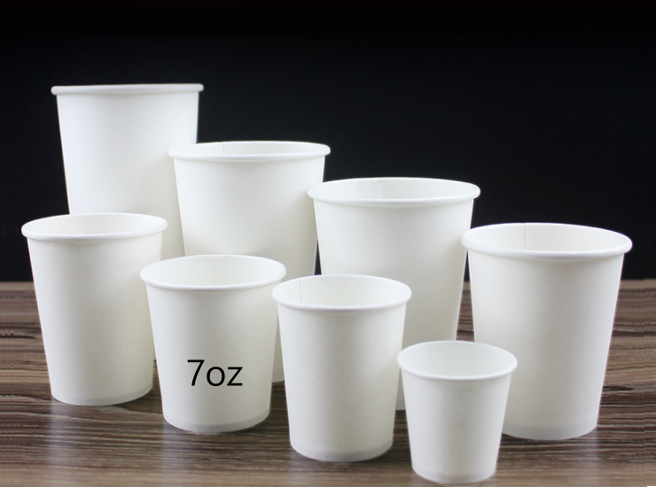 (Instant Pick Eco Degradable Paper Cup Ready Stock) (Box/2000 Pcs) Disposable Cup 7oz 200ml Paper Cup