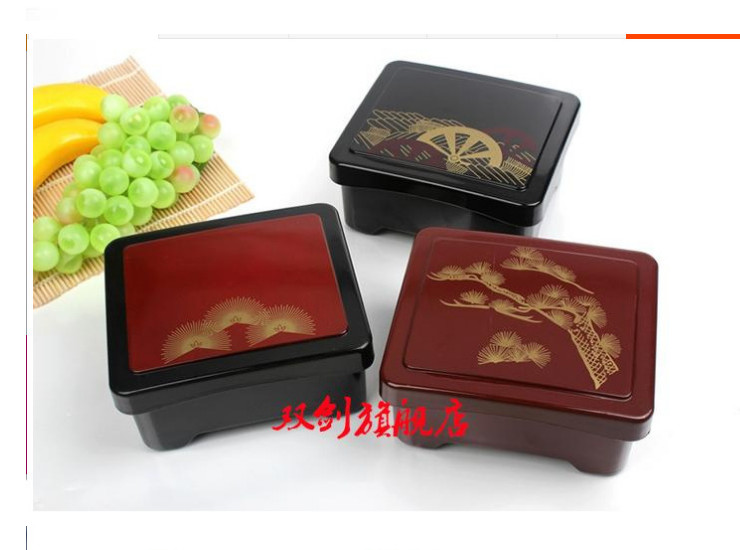Japanese High-End Fine Business Package Box Eel Lunch Box Lunch Box Easy To Clean Can Be Superimposed