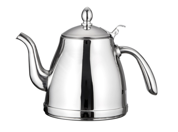 Kettle Stainless Steel Kettle Induction Cooker Kettle Brewing Teapot Thickening Flat Pot