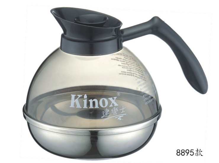 Kinox 304 Stainless Steel Bottom Coffee Pot Only For The Warm Coffee Pot 8895 1.8L
