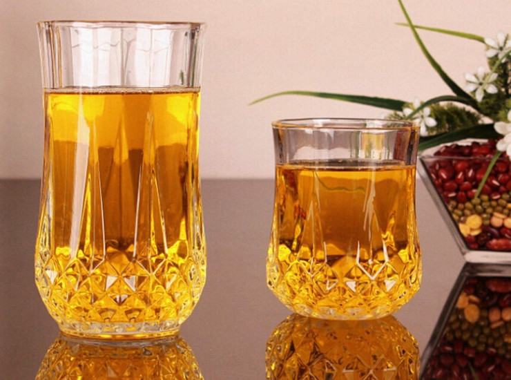 Lead-Free Glass Diamond Cup Whiskey Cup Beer Cup Wine Cup