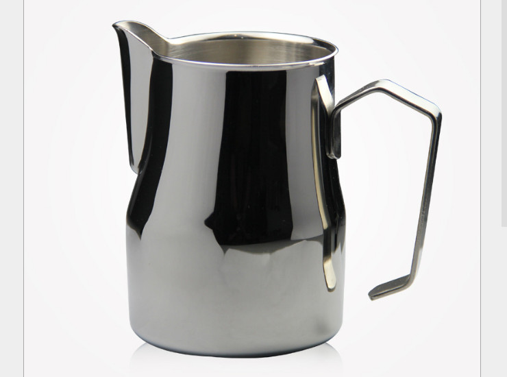 Long Mouth Coffee Pull Flower Cup Pointed Mouth Stainless Steel Pull Flower Pot Cappuccino Flower Vase Fridge Coffee Cup