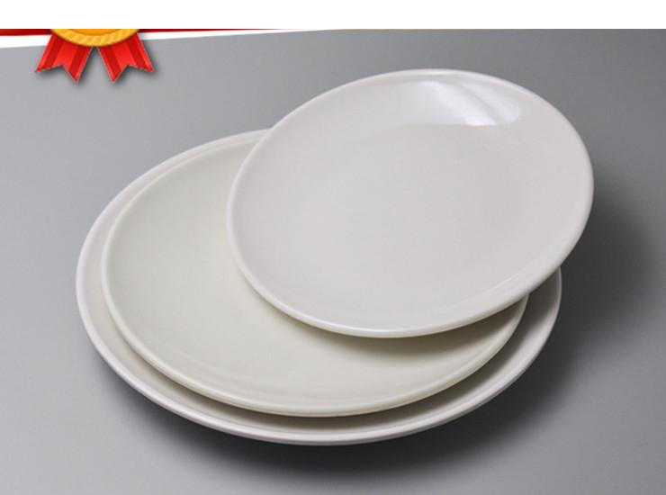 Wholesale Melamine Imitation Porcelain Tableware White Plastic Plate ...