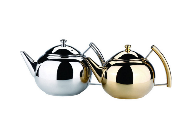 Morning Teapot Stainless Steel Teapot Red Tea Teapot Hotel Restaurant Tea Kettle