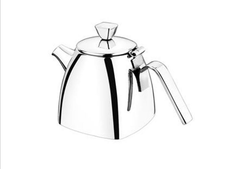 Non-Magnetic Thick Stainless Steel Square Pot With Cover Crane Mouth Household Flower Teapot Kettle Coffee Pot