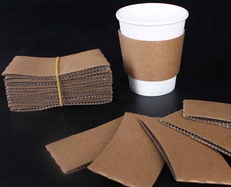 (Ready One-time Disposals Hot Drink Tableware) (Box/1000 pcs) Disposable Hot Drink Cup Thickening Insulated Cup Craft Paper Blank