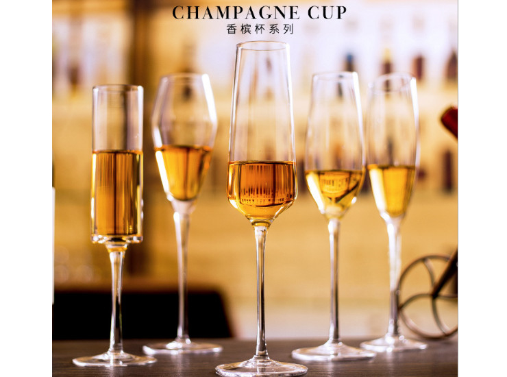 (Ready WinewareStock) Champagne Glass Series Handmade Champagne Glass Goblet Bubble Cup